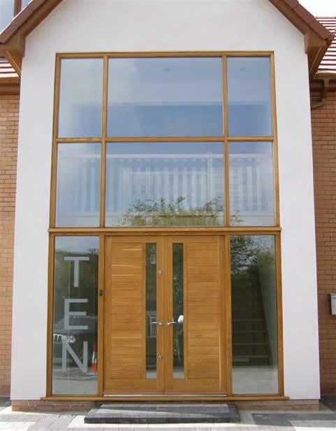 Wooden Doors Wooden Double Glazed Doors