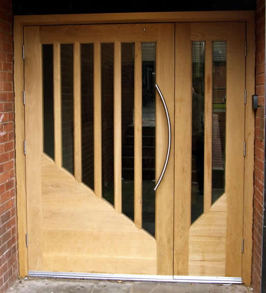 Wooden doors wooden double glazed doors for Double glazed doors
